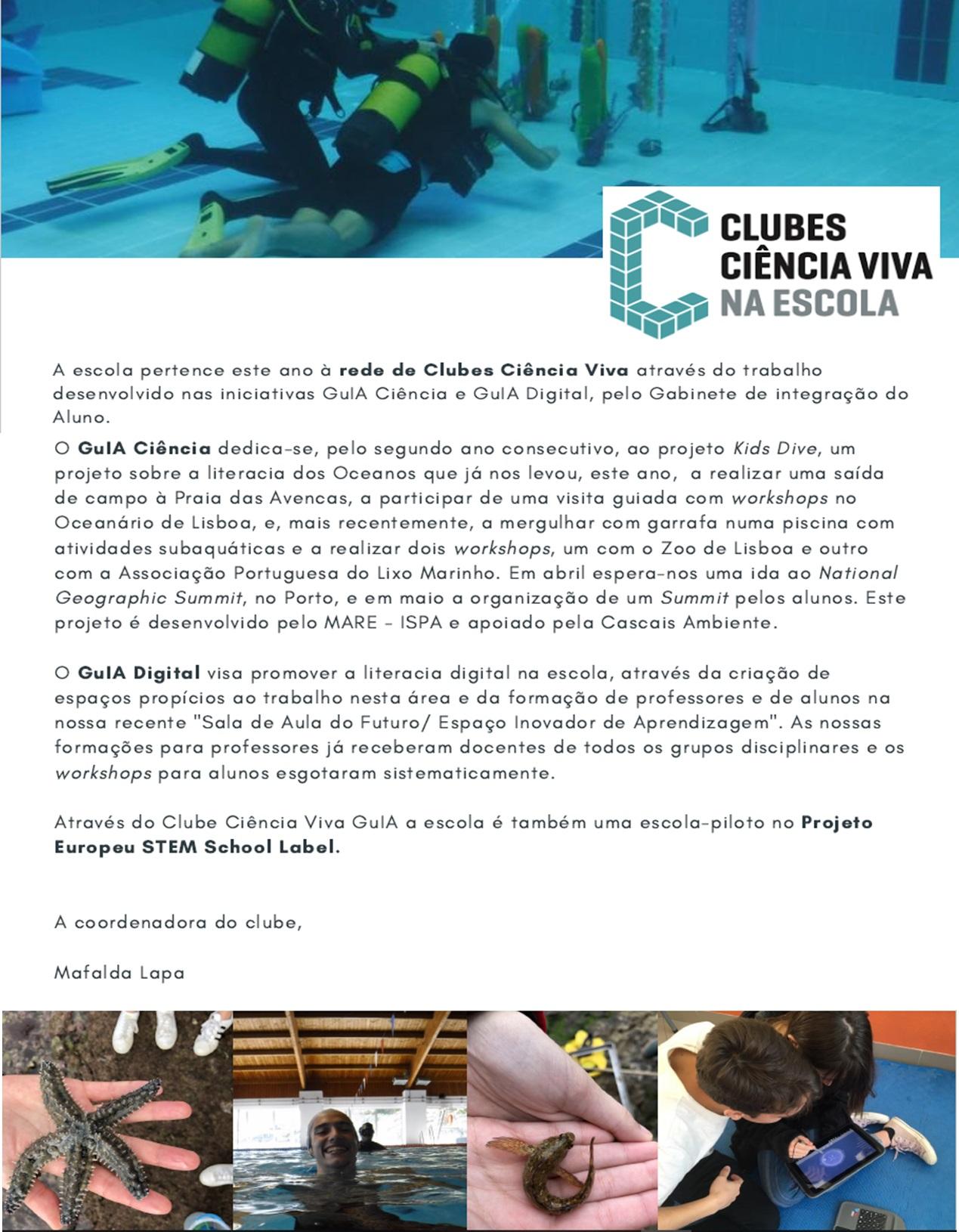 Clube Ciencia Viva GuIA