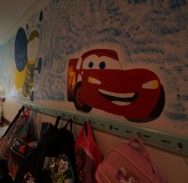 Escola Básica Cobre – corredor sala de aulas