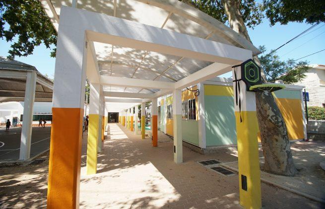 Escola Básica Cobre entrada