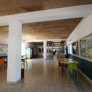 Escola Secundaria Cidadela corredor