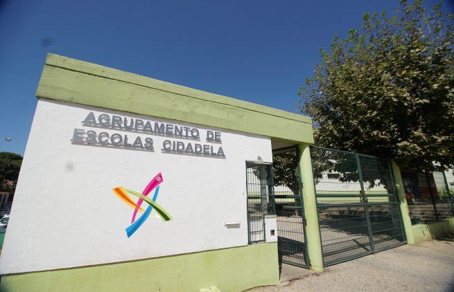 Escola-Secundaria-Cidadela-Portão-da-Entrada