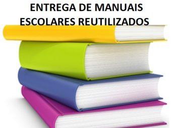 ENTREGA DE MANUAIS ESCOLARES REUTILIZADOS 2021-2022